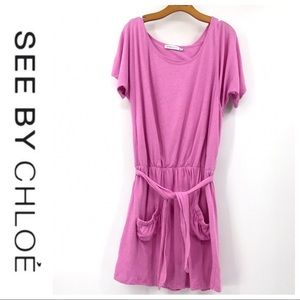 💕SALE💕 See by Chloe Pink Layer Dress